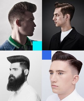 Online Barbering Courses - Learn to cut men's quiff haircuts