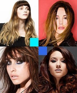 Online Hairdressing Course - Dip dye and balayage hair colouring course