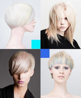 Online Hairdressing Course - Pastel blondes hair colouring