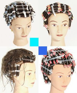 How to perm hair