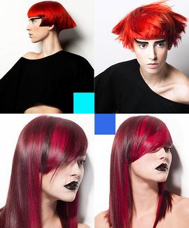 Creativity in Hues of Red online hairdressing course from MHDPro