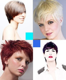 Pixie cut hairdressing course. Learn pixie cut hairstyles.