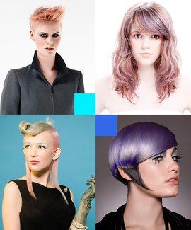 Ice Cream Shades hairdressing course. Learn advanced hair colouring techniques