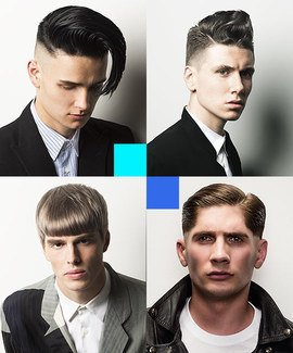 Retro Men's Haircuts