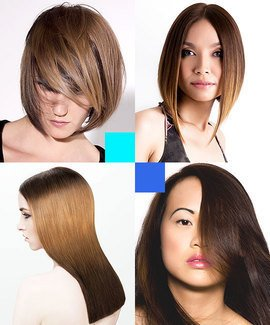 Rich Bronde and Brunette Hair Colour
