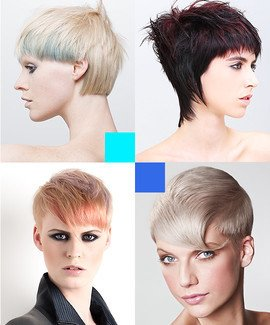Creative Pixie Cuts