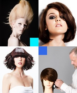 Blow drying online hairdressing course
