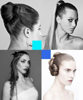 Online Hairdressing Cours - Styling hair and updos