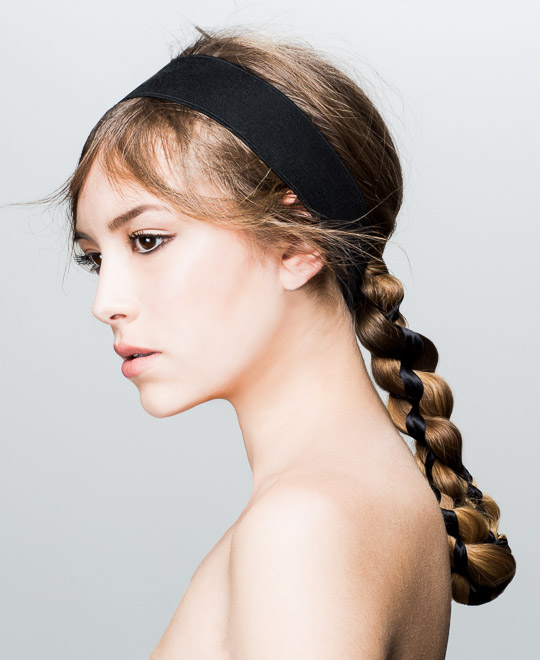 Learn to braid hair, use hair tong, tong hair, Stelios Chondros, online hairdressing course, prom hairstyle, prom hair