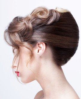 How to do a French Roll hairstyle, sharon blain, hair course, online hairdressing course, hair up, updo, dressing hair