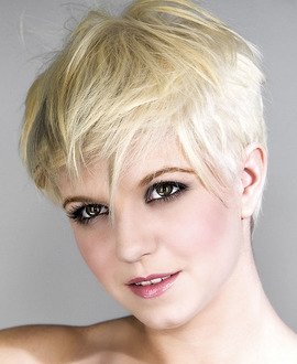 Learn how to cut a short pixie haircut for women