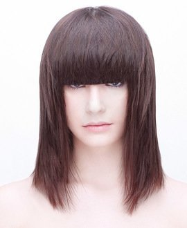 Triangular Layer Below Shoulders with a Fringe Tutorial