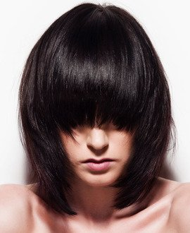 Concave Layered Long Bob Tutorial