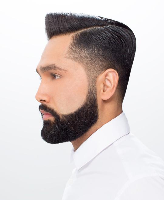 Razor Parting Haircut Tutorial