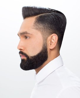 Razor Parting Haircut