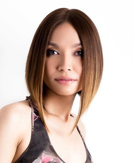 Reflective Ombre Hair Colour