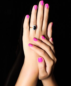 Preparation, massage technique & polish application are manicure essentials.