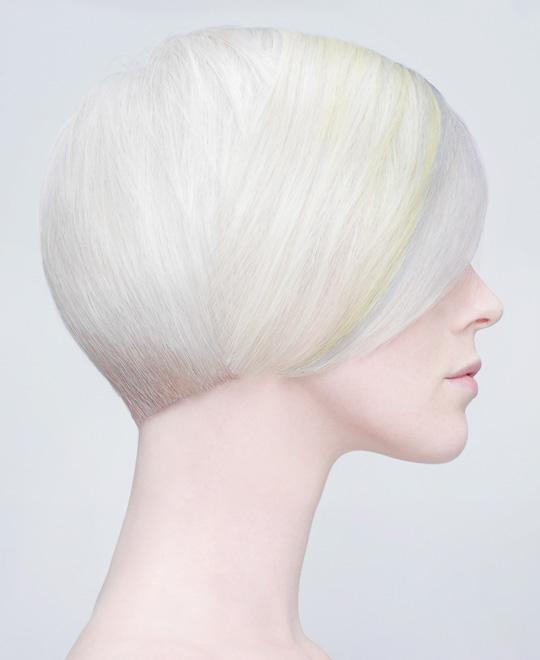 Pastel Silver Hair Colour