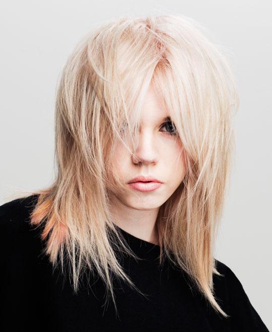 Pastel Blonde Hair Colour
