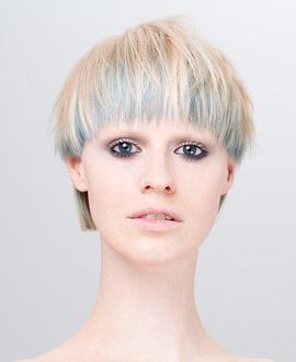 Pastel Blue Hair Colour