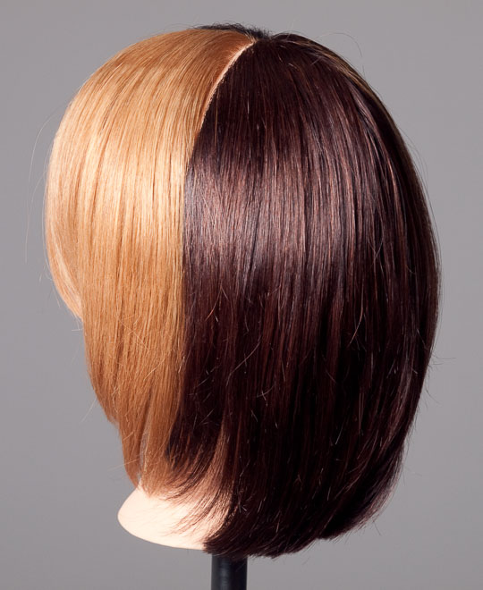 Lightening Dark Hair Colour