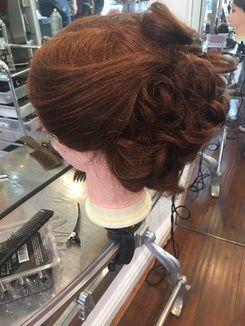 Classic Bridal Curls Updo