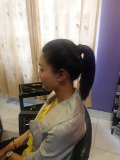 High Ponytail Updo