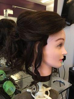 Soft Curls Updo
