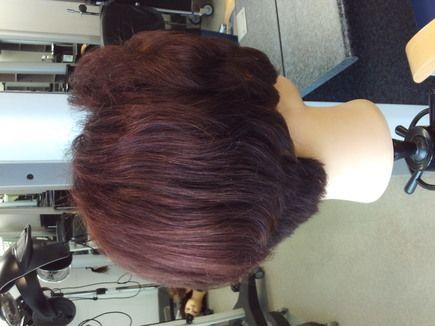 Colour Correction - Lightening Dark Hair Colour