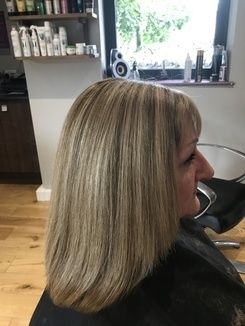 Colour Correction - Covering Grey Hair