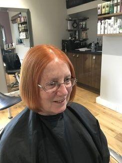 Colour Correction - Stripping Dark Hair Colour